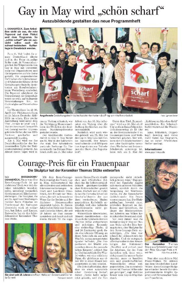 NOZ Bericht 18.04.2009