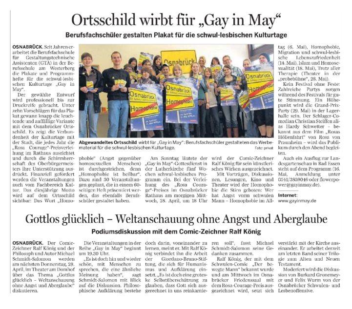 Neue Osnabruecker Zeitung 27.04.2010