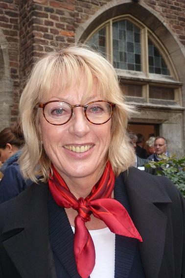 Rosa Courage Preisverleihung an Elfi Scho-Antwerpes