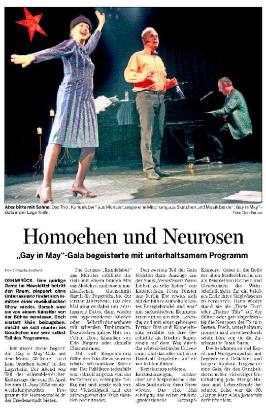 NOZ Bericht Gala 01 04.06.2008