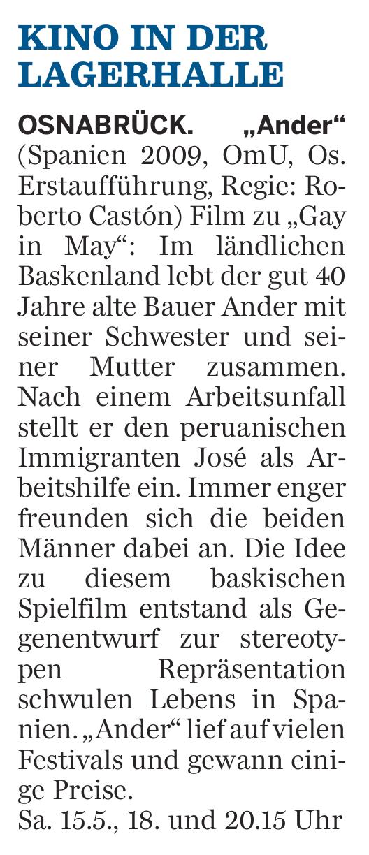 Neue Osnabruecker Zeitung 15.05.2010