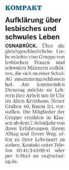 Neue Osnabruecker Zeitung Schul.AG 19.05.2010