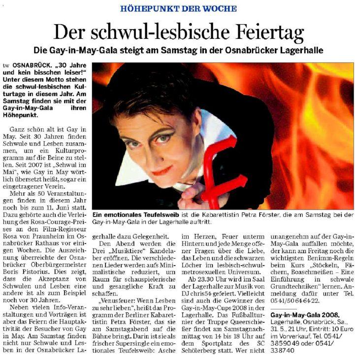 NOZ Vorbericht Gala 01 26.05.2008