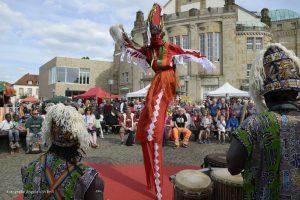 Eröffnung des Afrika-Festivals